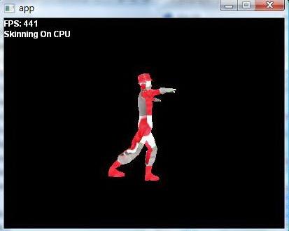 skinning on CPU