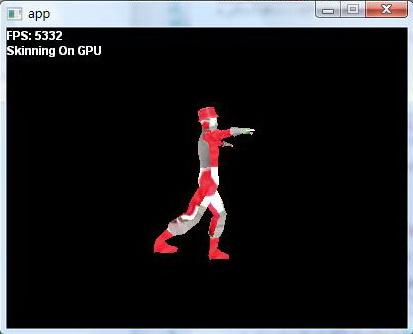 skinning on GPU